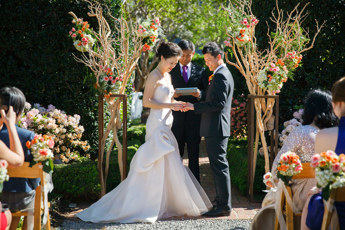 Outdoor Wedding At Houston Oaks Country Club: River Oaks Garden Club Wedding In Houston