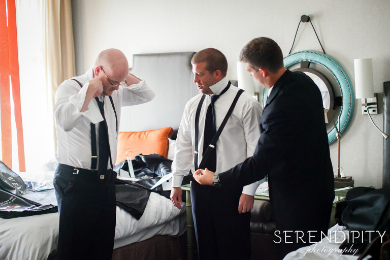 groom getting ready, houston wedding, hotel icon wedding