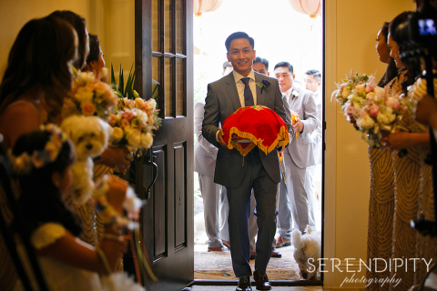 traditional Vietnamese wedding ceremony, Vietnamese tea ceremony
